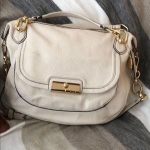 Coach Legacy Kristen Bag in Cream Leather